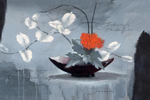 the Red Chrysanthemum by Joadoor