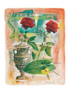 Two Antique Roses by Joadoor