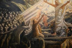 Christ in the Realm of the Dead, 1892-1894 by Joakim Skovgaard