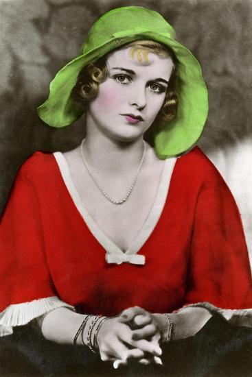 Joan Bennett, American Actress, C1932-1933--Giclee Print