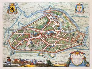 Aalst, 1649 by Joan Blaeu