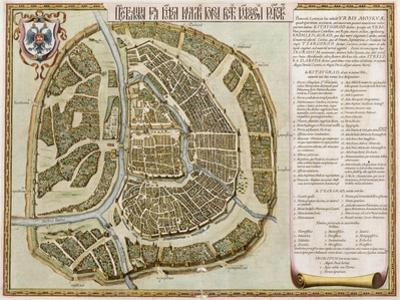 Amsterdam: Labore and Sumptibus, from 'Geographie Blaviane', 1662 (Hand Coloured Etching) by Joan Blaeu