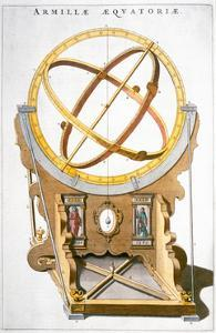 An orrery designed by the Danish astronomer Tycho Brahe, c1630 by Joan Blaeu