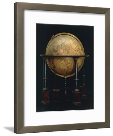 Celestial Globe, 1635