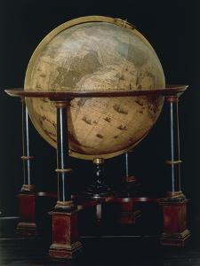 Earth Globe, 1635 by Joan Blaeu