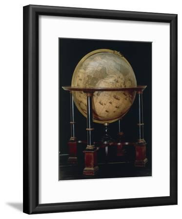 Earth Globe, 1635