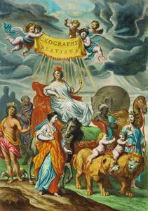 "Joan Blaeus ""Atlas Major"", published in Amsterdam 1662, consists of 593. by Joan Blaeu"