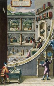 Le Quadran Mural, Tycho Brahe with Astronomical Instruments, c.1587 by Joan Blaeu