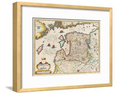 Livonia Map, Vulgo Lyefland, Atlas Maior