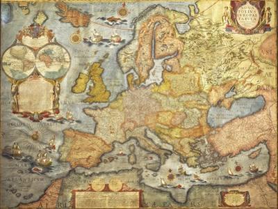 Map of Europe 1686