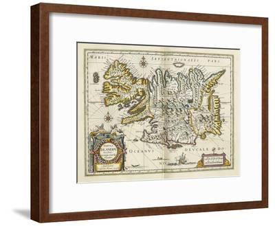 Map of Iceland, from 'Atlas Maior Sive Cosmographia Blaviana', 1662