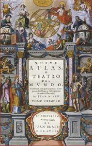 Nuevo Atlas o Teatro del Mundo, 1659 by Joan Blaeu