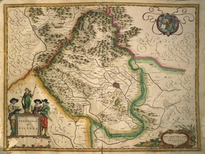 Province of Vicenza from Theatrum Civitatum Et Admirandorum Italiae by Joan Blaeu