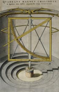 Quadrans Magnus Chalibeus by Joan Blaeu