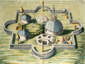 Stellebourg Observatory and Instruments by Joan Blaeu