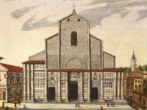The Basilica of San Petronio in Bologna by Joan Blaeu