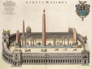 The Circus Maximus (From the Atlas Van Loo) by Joan Blaeu