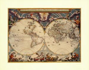 World Map by Joan Blaeu