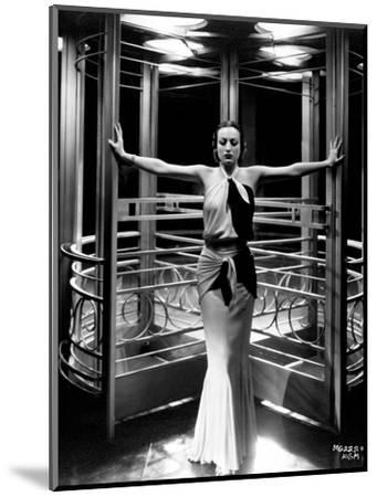 "Joan Crawford. ""Letty Lynton"" 1932, Directed by Clarence Brown. Custome by Adrian"
