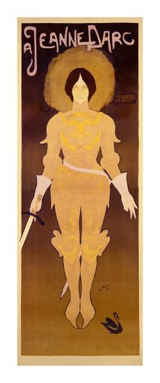 Joan d'Arc-Georges de Feure-Art Print