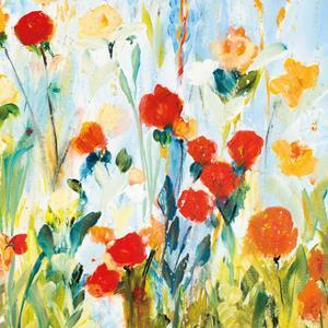 Wildflower Afternoon Crop II by Joan E Davis