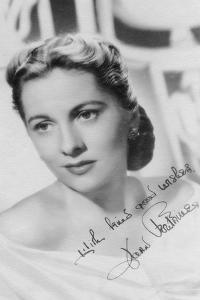 Joan Fontaine (B191), British Actress, C1930S