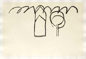 Cases I Arbres I by Joan Hernandez Pijuan