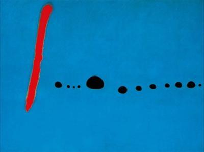 Blue II, c.1961 by Joan Mir?