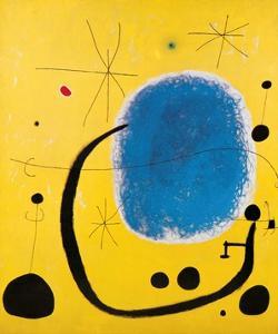L'Oro dell' Azzurro by Joan Mir?