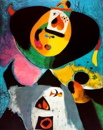 Portrait No. 1 by Joan Mir?