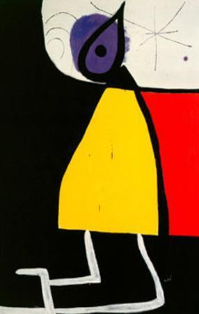 Woman in the Night by Joan Mir?