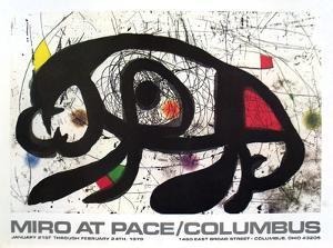 1979 at Pace Columbus by Joan Miro