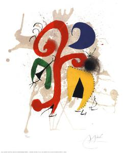 Abstract by Joan Miro