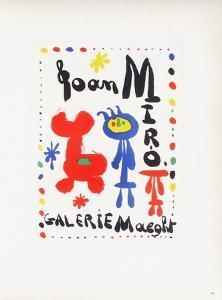 AF 1949 - Galerie Maeght by Joan Miro