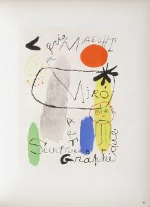 AF 1950 - Galerie Maeght by Joan Miro