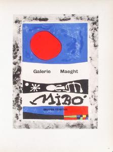 AF 1953 - Galerie Maeght by Joan Miro