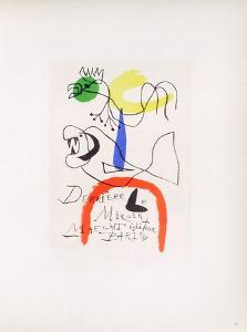AF 1954 - Derriere Le Miroir by Joan Miro
