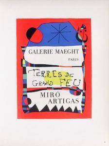 AF 1955 - Terres De Grand Feu by Joan Miro