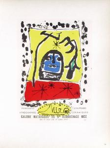 AF 1957 - Galerie Matarasso by Joan Miro