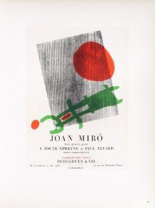 AF 1958 - Berggruen Et Cie by Joan Miro