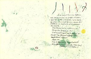 Album 19 Original Lithographs pages 1,14 by Joan Miro