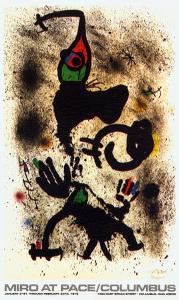At Pace/Columbus (vertical) by Joan Miro