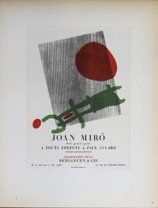 Berggruen & Cie by Joan Miro
