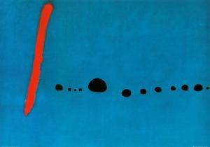Bleu II by Joan Miro