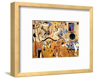 Carnival of Harlequin by Joan Miró