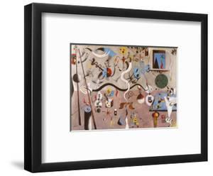Carnival of Harlequin by Joan Miro