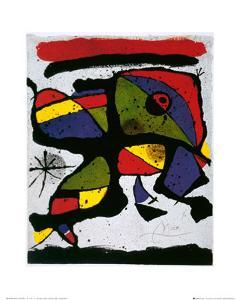 Composition by Joan Miro