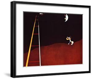 Dog Barking at the Moon by Joan Miro