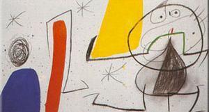 Dona Ocell Estels by Joan Miro