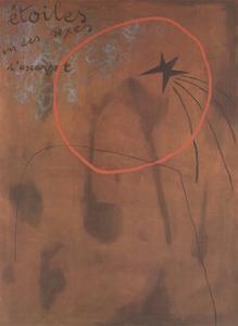 Etoiles D'Escargot (No Text) by Joan Miro